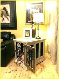 end table kennel dog kennel side table dog crate night stand end table kennel dog crate