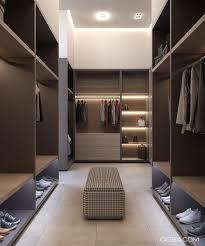 Master Bedroom Walk In Closet Minimalist Interior