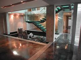 Stained Concrete Kitchen Floor How To Stain Concrete Adding Color To Cement Surfaces Hgtv