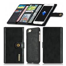 iphone 7 wallet case 14 slots with detachable slim case iphone7 4 7 inch magnetic case with card holder aiwe iphone 8 iphone8 luxury leather flip