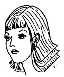 Дипломная работа Современные стрижки мужские и женские волос  Рис 10 Рис 11