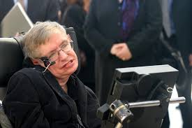 british physicist stephen hawking at a conference with israeli high students in jerum in december