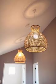 creative wicker hanging lamp shades