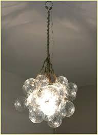 glass bubble chandelier canada uk
