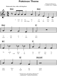 The piano tabs display fingering numbers for the right and left hand with red and blue letters. Beginner Notes Sheet Music Downloads Musicnotes Com