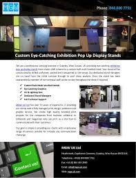 Uk Display Stands Ltd Custom EyeCatching Exhibition Pop Up Display Stands 62