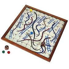 Wooden Board Games Canada Wooden Snake And Ladder Classic Game With Magnetic Board And 63