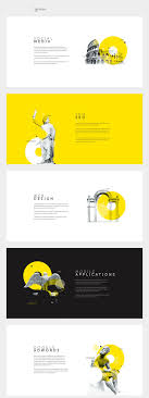 best creative presentation ideas ideas power dottopia web design for graphics services yellow website interesting use of yellow color plus yellow circular design element combined images