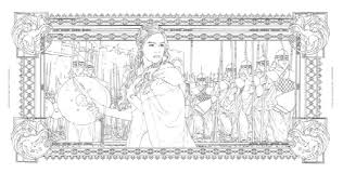 Fresh Of Game Of Thrones Coloring Book Finished Pages Gallery