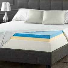 Foam mattress topper Air Image Unavailable Amazoncom Amazoncom Zinus Inch Gel Memory Foam Mattress Topper Queen