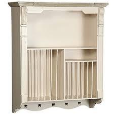 kitchen plate racks mounted shelves