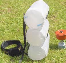 ultralight external frame backpack