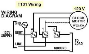 how to wire t101 timer t101 wiring