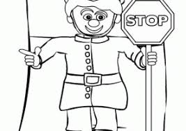 Small Picture Stop Sign Coloring Pages Coloring4Freecom