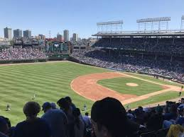 Wrigley Field Section 306l Home Of Chicago Cubs