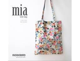 Tote Bag Sewing Pattern Extraordinary PATTERN Market Bag Book Bag Tote Bag Everyday Bag Bag Etsy