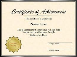 Sample Certificate Templates Sample Graduation Certificate Template Powerpoint Graduation