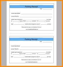 Parking Receipt Template Parking Receipt Receipt Parking Receipt