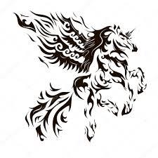 Koně Tetování Stock Fotografie Terbrana1 56250583