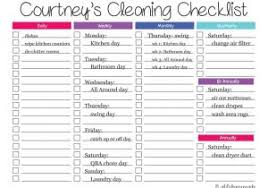 monthly house cleaning schedule template house cleaning invoice template with monthly bill planner template