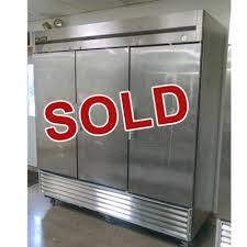 used true refrigerator. Plain Used Used True ReachIn Solid 3 Door Refrigerator Throughout R
