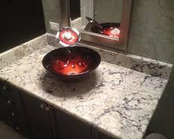 granite bathroom sinks countertops