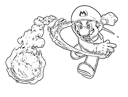 Small Picture Coloring Pages Of Mario Characters creativemoveme