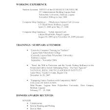 Sample Resume Job Pdf For Applying A Good Format Admissions – Yomm