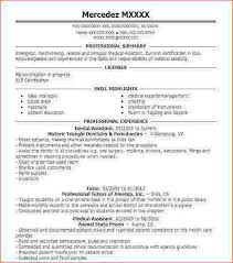 Dental Assistant Resume Skills Classy Dental Assisting Resume Magnificent Dental Assistant Resume Skills