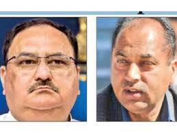 Himachal Cm Candidate Nadda Jai Ram Thakur Emerge Frontrunners For