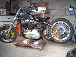 ironhead v twin or santee bolt on hardtail the sportster and