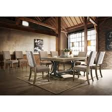 upholstered dining chairs with nail heads best of e allium way dasher 7 piece removable leaf