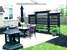 outdoor deck privacy screen outdoor
