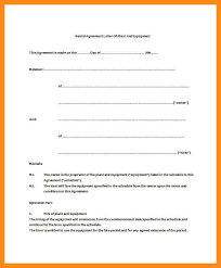 sample rental agreement letter 100 equipment rental agreement template free sample owner