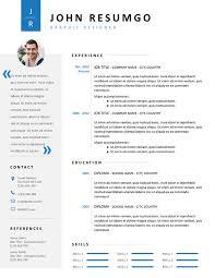 modern clean resume template cadmus clean resume template resumgo com