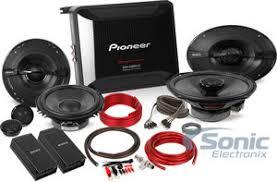 pioneer gm d8604. amplified pioneer \u0026 sony four speakers package: gm-d8604 + 6.5\ gm d8604