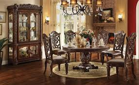 round formal dining room table. Vendome Round Formal Dining Room Set Table R