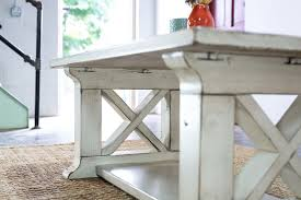 Style Coffee Table Farmhouse Coffee Table Old Farm Rustic Style Living Room Furniture