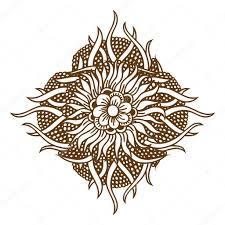 Henna Tetování Mandala Stock Vektor Frescomovie 122509592