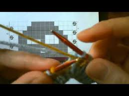 Double Knitting Tutorial Part 2 Reading The Chart Youtube