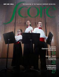 Score Magazine Nov Dec 2016 by Paducah Symphony Orchestra issuu