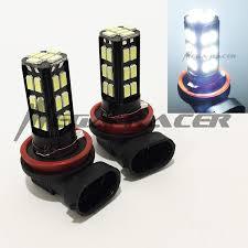 Low Beam Light Bulb Mega Racer H11 Low Beam Headlight Super White 6000k Bright Chip 30 Led Xenon Lamp Light Bulb Replace Auto Car