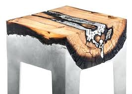 tree trunk furniture tree root table diy