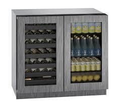 Undercounter Beverage Refrigerator Glass Door Undercounter Wine Cooler At Us Appliance