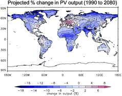 Climate change impacts on future photovoltaic and concentrated ...