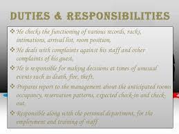 Front Desk Supervisor Duties Resume Professional Resume Templates