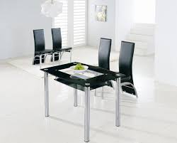 Glass Dinette Sets Dining Set Dining Room Table Elegant Round Great Small Glass  Dining Room Tables