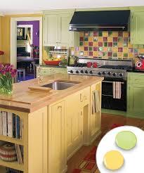 Paint Kitchen Cabinets Colors Painted Kitchen Cabinet Colors Ideas Monsterlune