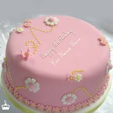 happy birthday cakes for sister with name