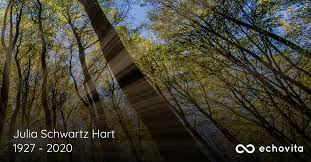 Julia Schwartz Hart Obituary (1927 - 2020) | Knoxville, Tennessee